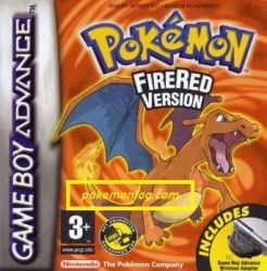 Pokemon Fire Red version
