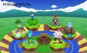 characters in pokemon rumble world game