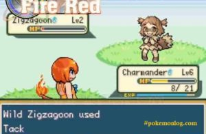 pokemon mega moemon gameplay scene