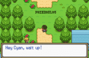 game area in cyan pokemon