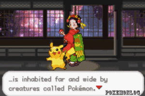 pickachu in the pokemon life edition