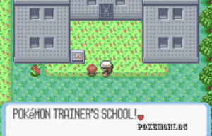 pokemon trainer in the area