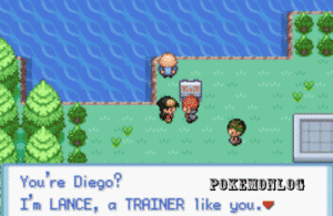 trainers meeting in pokemon crystal dust version