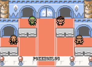 characters movements in pokemon crystal clear game
