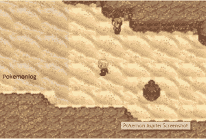 pokemon jupiter main screen gameplay