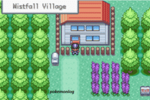 wistfall village in amaryllis pokemon game