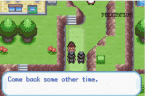 meeting with professor in pokemon amnesia game