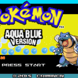 pokemon aqua blue download