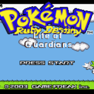 pokemon ruby destiny life of guardians