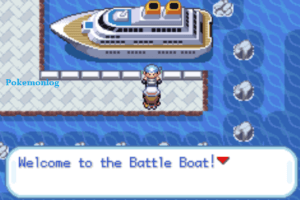 player in the battle boat