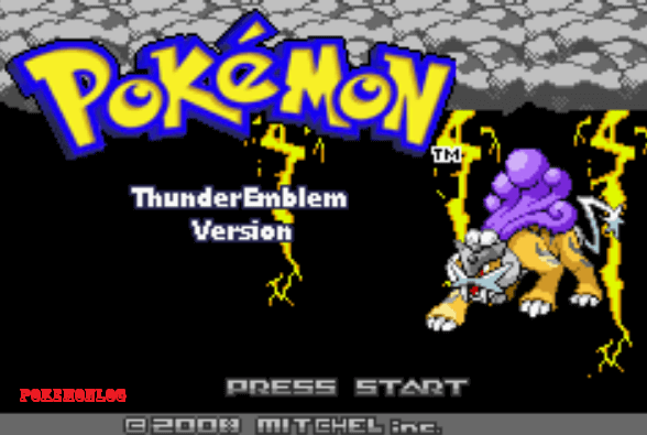 pokemon thunder emblem