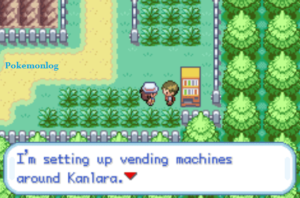 vending machine in kanlara