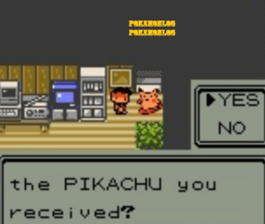confirming that the pikachu is received or not