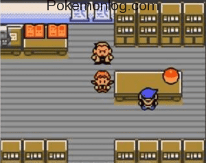 pokemon pink gameplay scene