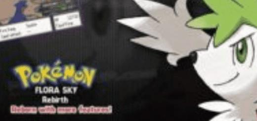 pokemon flora sky rebirth rom download