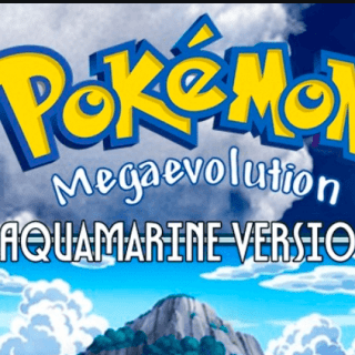 Pokemon Mega Evolution Aquamarine