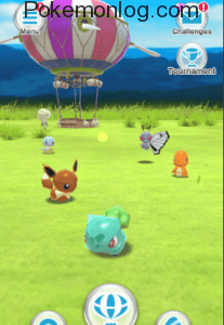 player moving in the area