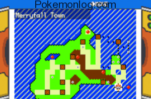 merryfall town map