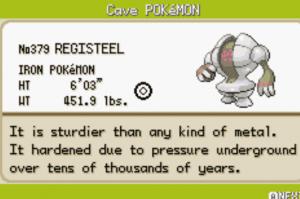 cave pokemon