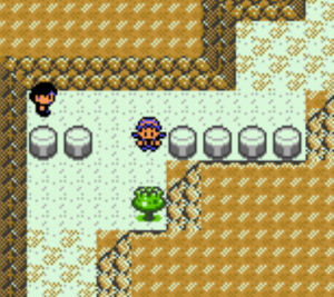 player exploring the area