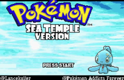 Pokemon Sea Temple Download