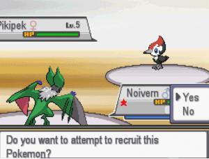 Recruiting the pokemon