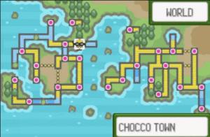 chocco town map