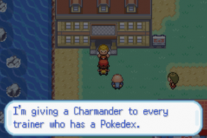 Charmander to every trainer