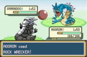 Gyarados and aggron