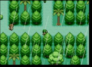 player moving around