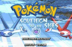 Pokemon Sovereign of the Skies