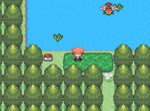 pokemon character in the sea
