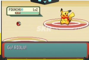 Pikachu is appearing