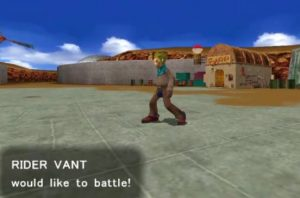Rider Vant would like to battle