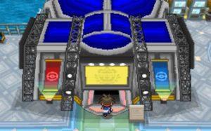Visiting the pokemon center