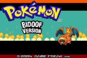 Pokemon Bidoof Version