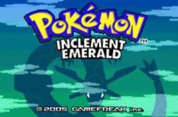 Pokemon Inclement Emerald