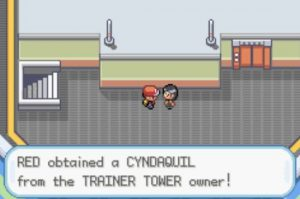 Red Obtained a Cyndaquil
