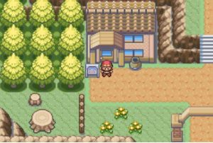 exploring the area for new pokemon